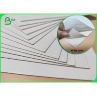 China 1.2mm 1.5mm White SBS Cardboard Paper Sheet For Folding Carton Industry on sale