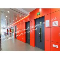 Surface Painted Standard Size Industrial Fire Rated Doors 3 Hours Fire Resistant Manufactures