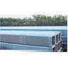 Square Longitudinal Mechanical Steel Tubing Galvanized Steel Water Pipe Manufactures