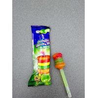 Quality Fruit Twister Lollipop Funny Shape Healthy Hard Candy Sweet And Delicious for sale