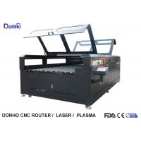 China Double Protective Cover Co2 Laser Cutting Machine For Fabric / Crystal / Acrylic / Wood on sale