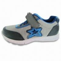 Men's Sports Shoes with Leather + Mesh Upper and Comfort Outsole, OEM and ODM Orders are Welcome Manufactures