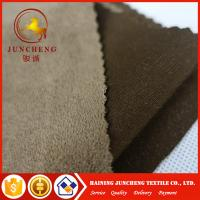 China Garment home textile knitted faux 100% polyester micro suede fabric on sale
