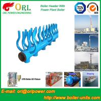 Buy cheap High Temperature Boiler Header Manifolds with Boiler Manifold Piping from wholesalers