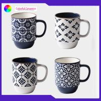 Metallic Glaze Stackable Coffee Mugs , Personalized Coffee Cup Tableware Set Manufactures