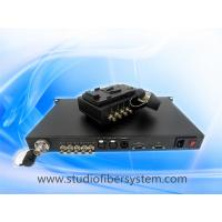 China JVC remote OB VAN system with SDI&Clearcom intercom& tally&Remote control over LEMO SMPTE hybrid cable on sale