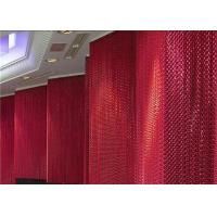China High Flexibility Chain Link Curtain , Aluminum Chain Curtain Easy Installation on sale