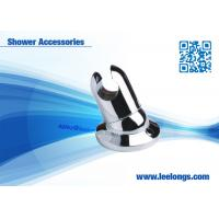 OEM Bathroom Shower Accessories ABS Chrome Wall Shower Holder For G1/2 Nut Manufactures