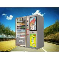 Big Stock Automatic Cold drinks Beverage Cakes Baked Food Gifts Vending Machine Kiosk with Professional Elevator System Manufactures