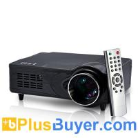 China LED 1080P Multimedia Projector with Analog TV Tuner on sale