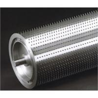 PVC , PE , PP,  ABS Embossing Roller With High Performance , Leather Embossing Roll Manufactures