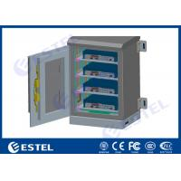 Small Double Layer Outdoor Wall Mounted Cabinet For Installing Mini Computer Manufactures