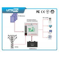 Quality 3kw 4kw 5kw Solar Hybrid Inverter with MPPT Solar Charge Controller for sale