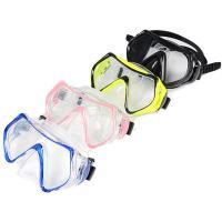 Silicone Adult Diving Mask , Scuba Diving Equipment With Waterproof Tempered Glass Lens Manufactures