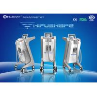 Buy cheap Multi-cooling 500W Vertical HIFU Machine Effective For Body Shaping from wholesalers