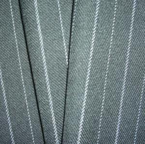 China T/R yarn dyed stripe twill fabric on sale