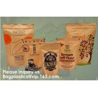 Quality STAND UP POUCHES SPOUT POUCHES SIDE GUSSET BAGS PAPER BAGS 3 SIDE SEAL POUCH BLOCK BOTTOM BAGS JERKY BAGS BIODEGRADABLE for sale