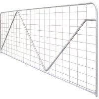 China 1m Height Metal Adjustable Rural Mesh Farm Gates on sale
