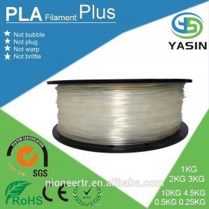 RoHS 3d printing consumables , plastic spool rod 3.0mm 1.75mm abs pla 3d printer filaments Manufactures