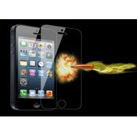 Clear Cell phone glass film 8H screen protector tempered glass for iphone 5 Manufactures