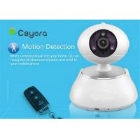 China SD Card Storage Wireless IP Security  Camera Email Alarm Remote Pan / Tilt  Control on sale