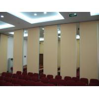 Good Sound Insulation Office Sliding Partition Walls , Aluminium Frame Movable Room Dividers Manufactures