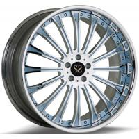 Buy cheap Custom Chrome 2- Piece 21 Inch Forged Alloy Rims For BMW M5 Rims With 5x120 TUV from wholesalers