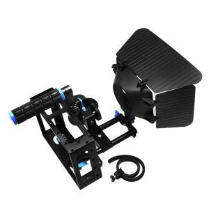 Camera Cage +Top Handle+15mm Aluminum Rod Block Plate+Follow Focus+Matte Box Manufactures