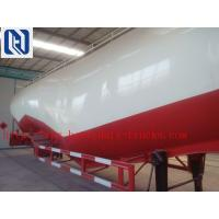 60M3 Polyurethane Painting Bulk Cement Transport Truck With #50 #90 Fifth Wheel Manufactures