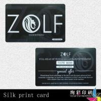 China Personal Financial Records IC Smart Card / ATM Card With Magnetic Stripe on sale