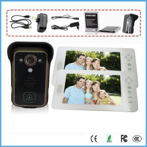 "7"" Wireless 2.4G Video Home System Intercom Doorbell Outdoor Camera Photo Take"
