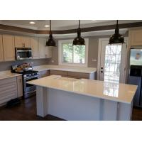 Style Nano Glass Countertop With Kitchen Cabinet , Glass Stone Countertops Manufactures
