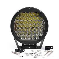 10 Inch Round 225W Intensity Led Spot Light For offroad 4x4 JEEP FORD TOYOTA Pickup Light Bar Driving Headlight Green Manufactures