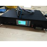 96V10Ah Telecom Station Lifepo4 Lithium Battery with 2U Steel Rack Display RS485 Communication Manufactures