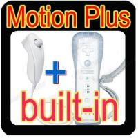 For Wii remote and Nunchuck controller with Built-in Motion plus