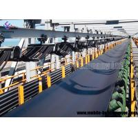 Wear Resistant Rubber Flat Mobile Conveyor Belt System For Copper Ore And Gold Ore Manufactures