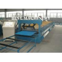 Corrugated Zinc Coated Metal Sheet Roof Roll Forming Machine Electrical System Manufactures