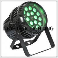 High Power 18 10w Wash Zoom Led High Power Led Stage Lighting Fixtures For Discos / Nightclubs Manufactures