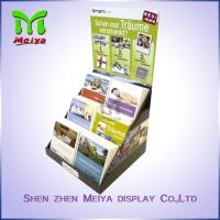 Customized Paper Pop up Counter Top Display Stands Cardboard PDQ for Books Magazine Brochure Manufactures