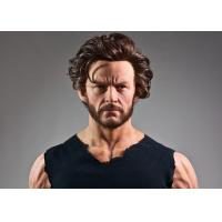 Simulated Decoration Celebrities Wax Figures Of Hugh Jackman Acyion Figure Manufactures