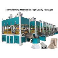 China Paper Molded Pulp Machine Forming , Drying And Hot Press Shaping 150kg/h on sale