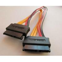 China SATA cable 7+6p to 7+6p Date Power Adapter on sale