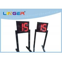 Customized LED Digital Clock / Shot Clock Timer With 1m Height Stand Manufactures