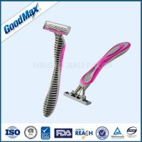 Lubricating Strip Triple Blade Women Razor , Any Color Multi Blade Razor Manufactures