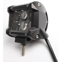 Quality 4 Inch 18W 6 Cree LED 4D Double Row Work Light Bar Spot Beam Offroad Driving Fog for sale