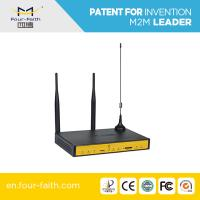 F3434S 3g 4lan port wireless industrial router, rs232 port for bus wifi router Manufactures