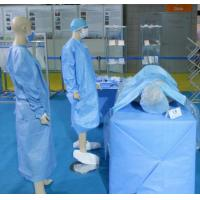 Quality SMS Non woen fabric/100% Polypropylene SMS non woven fabric for hosital/non woven fabric for surgery for sale