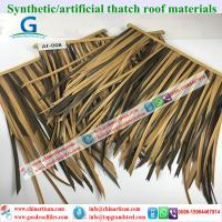 wholesale plastic palm artificial synthetic palm thatch tiki hut palapa 80 Manufactures