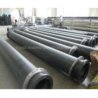 China HDPE dredge pipe with FREE flanges on sale
