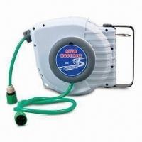 Automatic Hose Reel with 1/2-inch x 15m Loading Capacity, Easy to Retract Manufactures